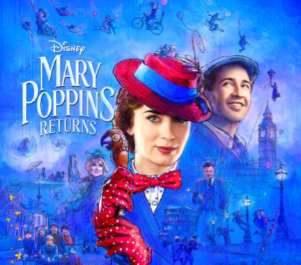 Gánate 4 Boletos VIP para la película Mary Poppins Returns de Disney